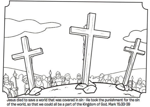 Empty Tomb Coloring Page From Whatu0027s In The Bible?
