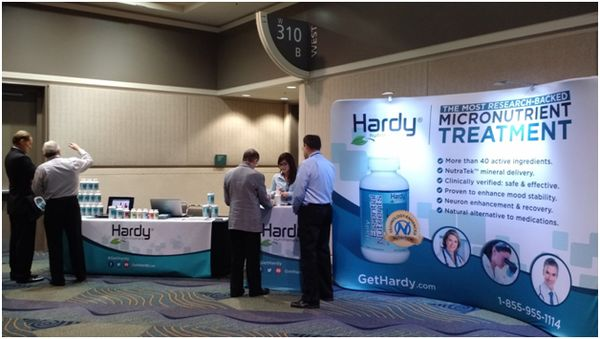Hardy Nutritionals at the International Symposium on Clinical Neuroscience