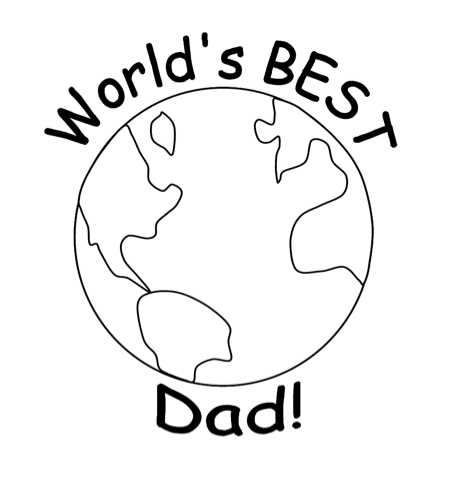 if the dad in your life is the more traditional type youll find coloring pages of neckties and golf gear on twistynoodlecom along with celebratory - Coloring Ws Coloring Pages