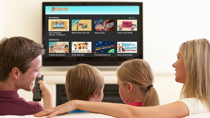 jellytelly streaming for christian families