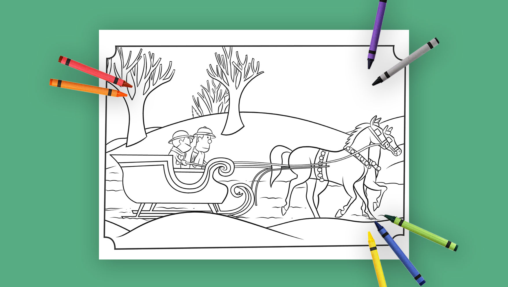 Why Do We Call it Christmas? Coloring Pages