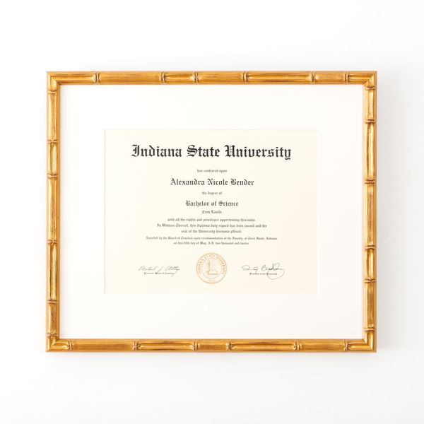 How To Frame Your Diploma