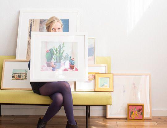 The Emily Henderson Way To Shop Frame And Hang Gallery Walls