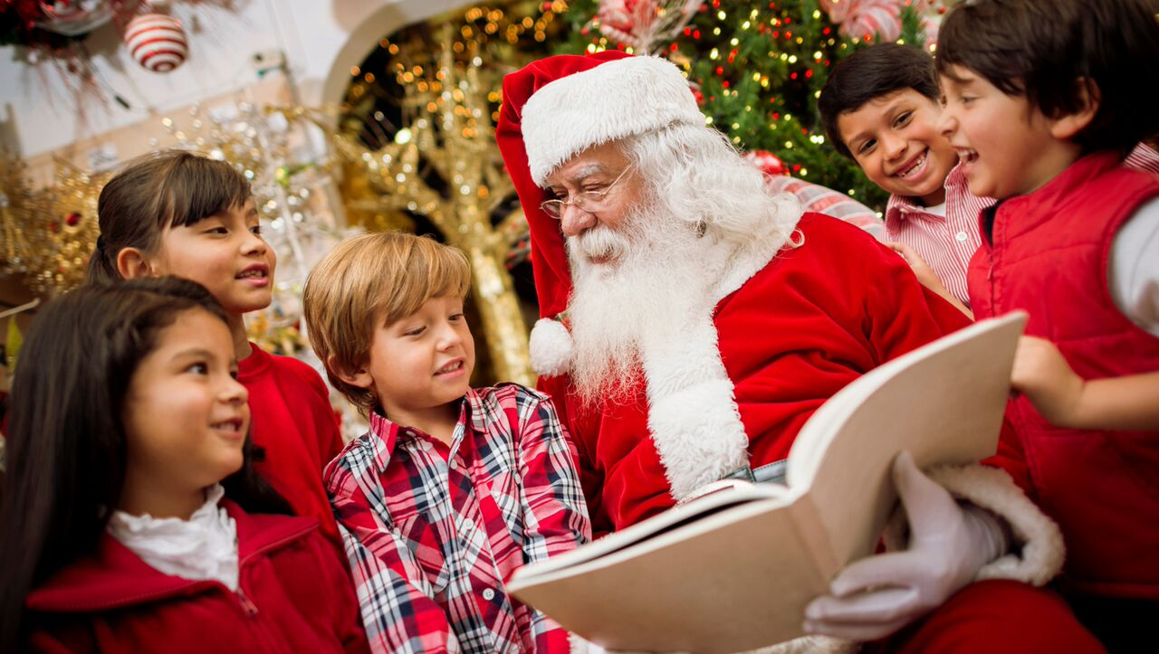 how to talk to your kids about santa claus - Santa Claus Children