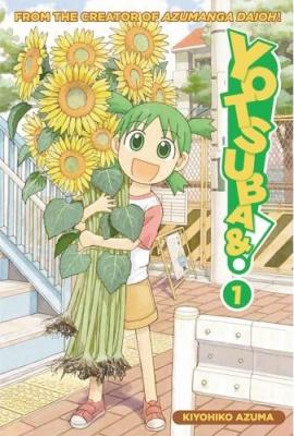 Yotsubato manga cover
