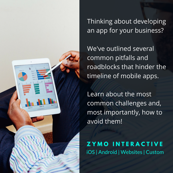 zymo interactive common app development challenges