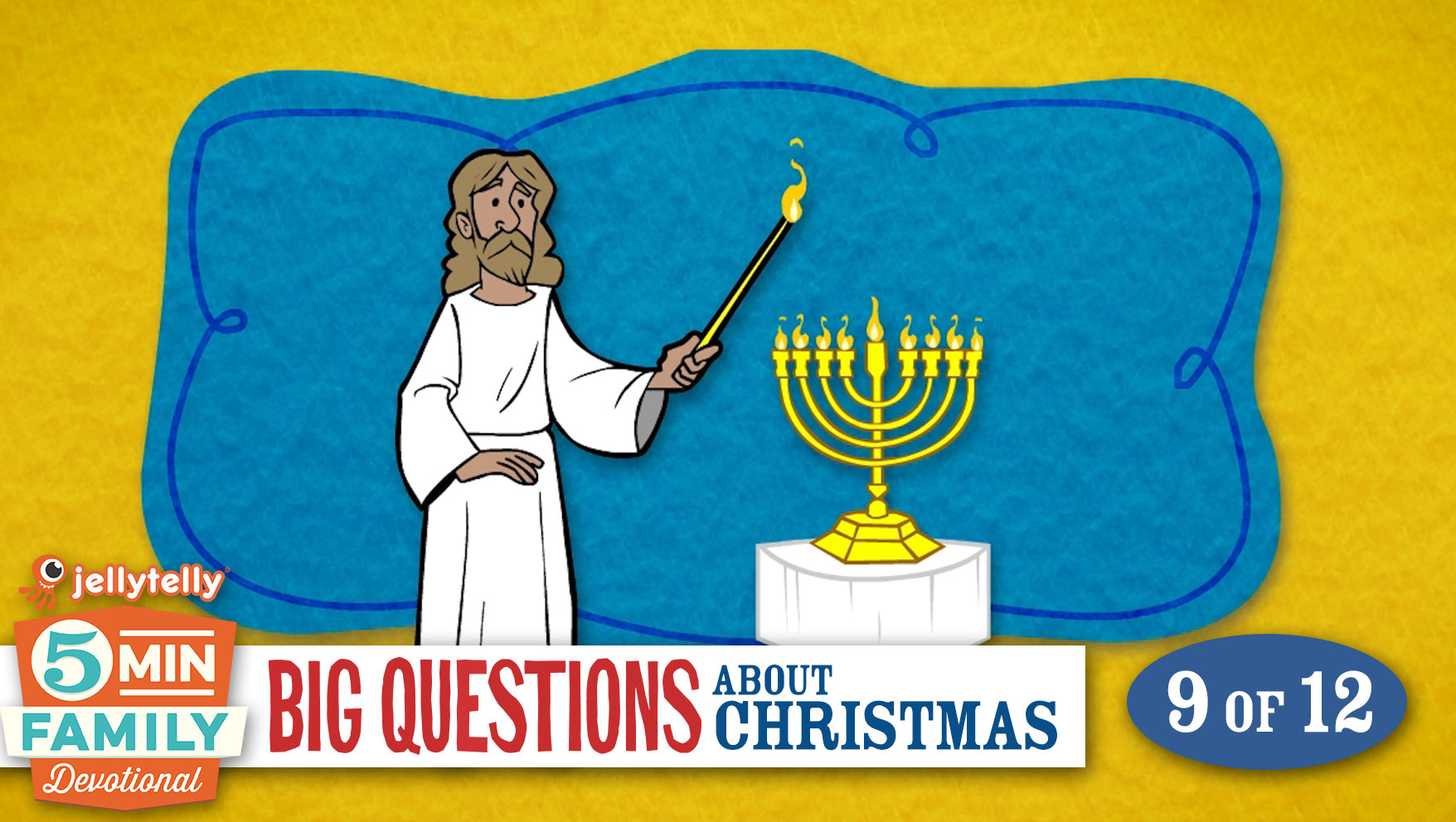 What is Hanukkah? - Christmas 5 Minute Family Devotional