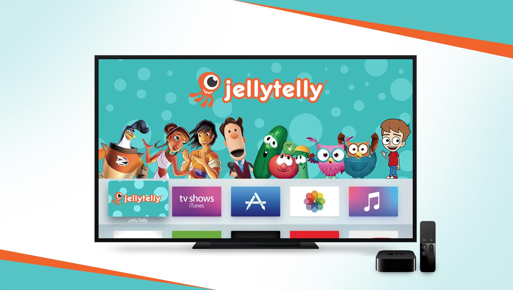 JellyTelly Now Has an Apple TV App | Jellytelly Parents
