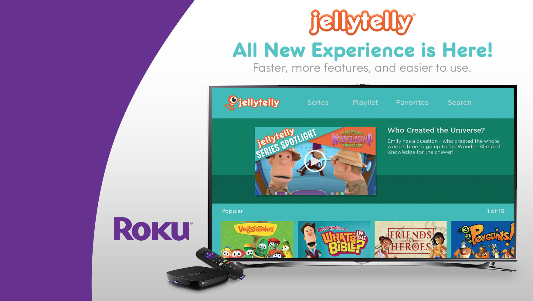 JellyTelly Launches New Roku Channel