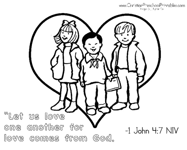 Image Result For Be Kind And Loving Coloring Page