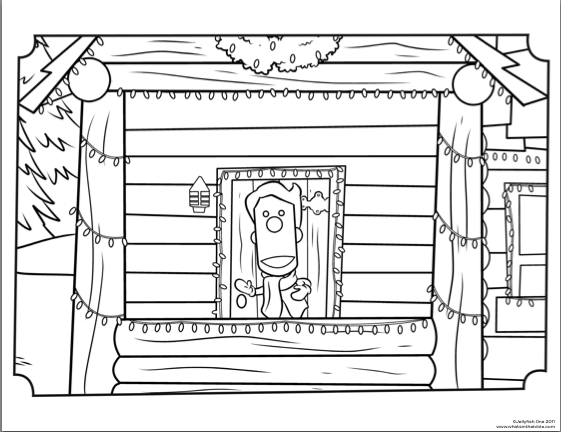 buck denver christian coloring pages - photo#18