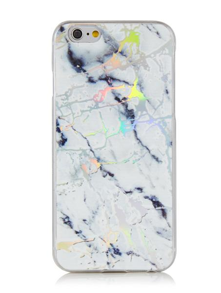 paint splash on marble phone case