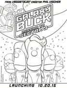 Galaxy Buck Coloring Pages Jellytelly Parents