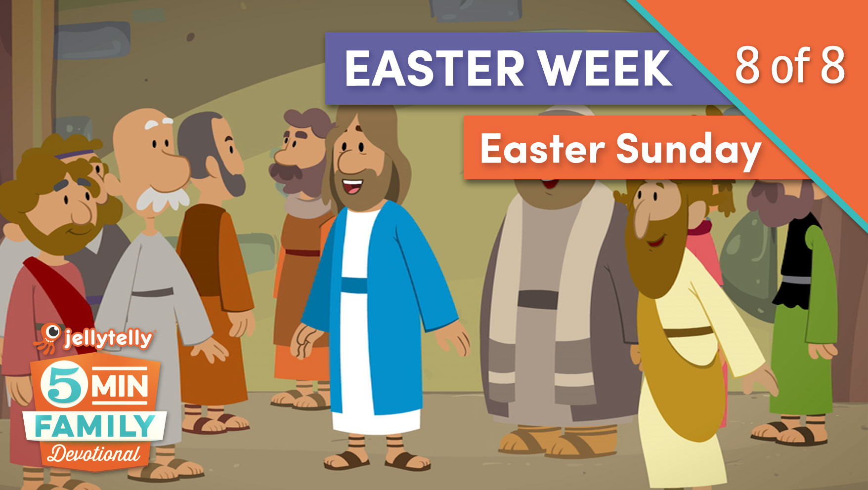 Easter Sunday - Easter Week 5 Minute Family Devotional