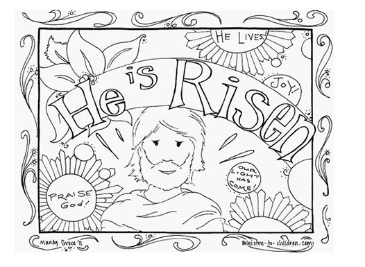 Best Easter Coloring Pages | Jellytelly Parents