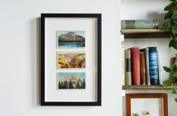 How To: Frame a Postcard