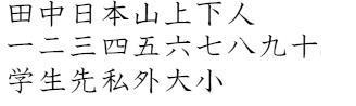 Elementary Kanji from JAPN 1001