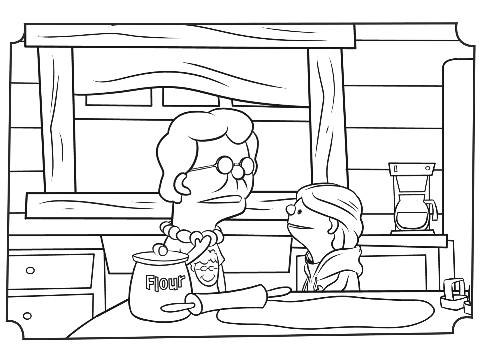 jellytelly coloring pages - photo#1