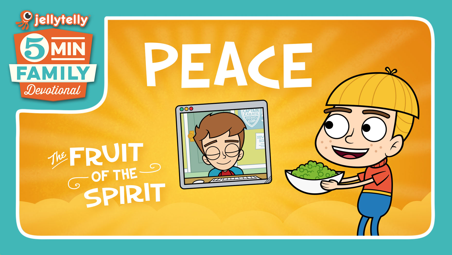 Peace - The Fruit of the Spirit 5 Minute Family Devotional