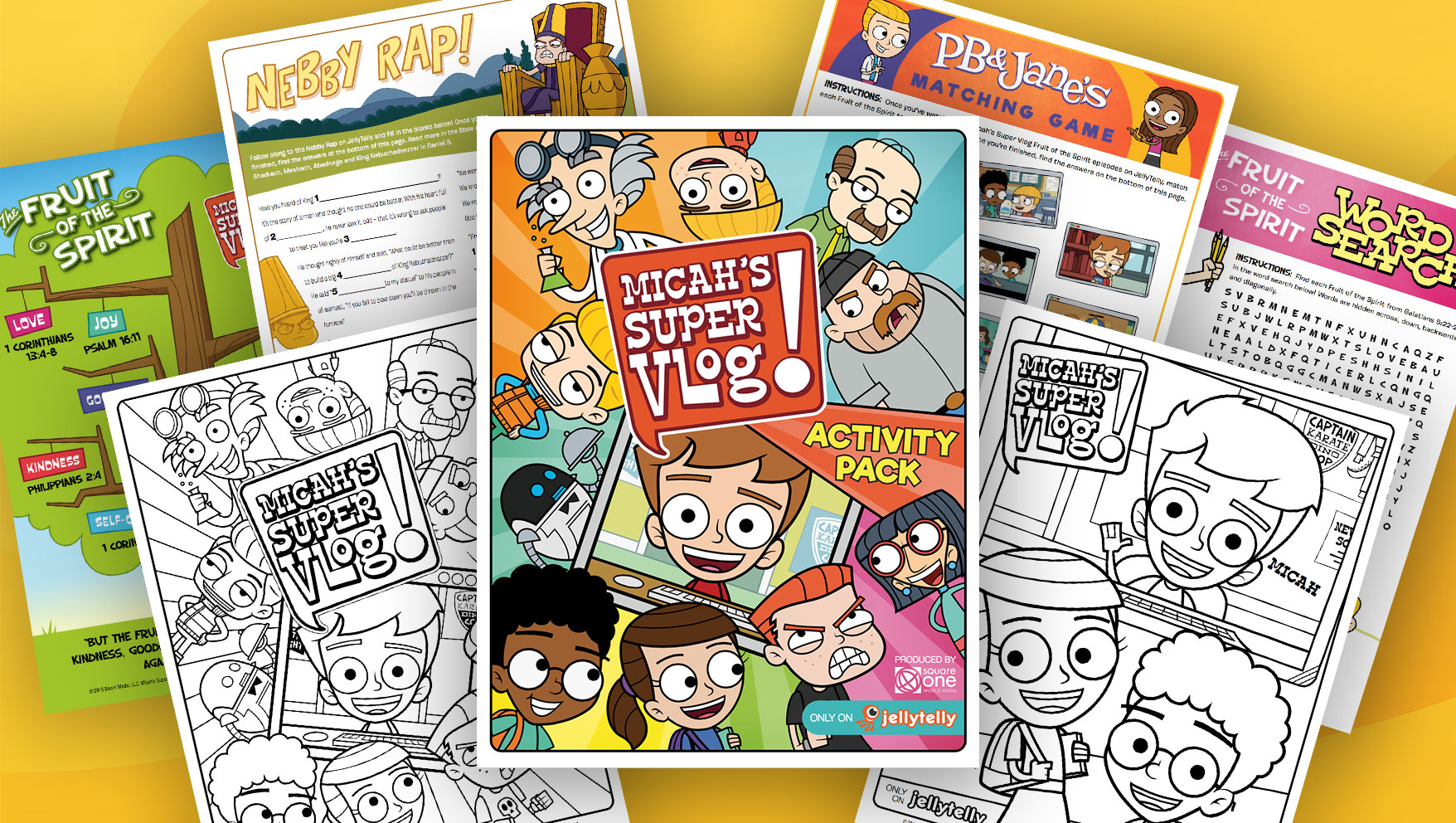 Of Micahs Super Vlog On JellyTelly Weve Made A Brand New Activity Pack Follow Along With The Series These Printables