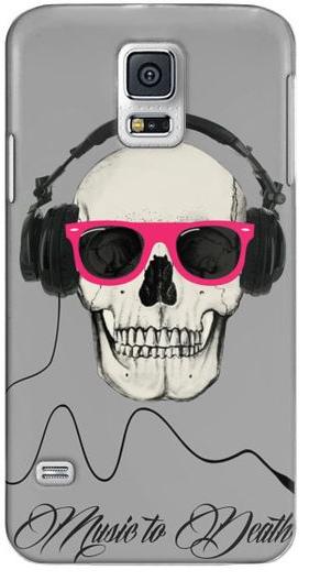 skull music phone case