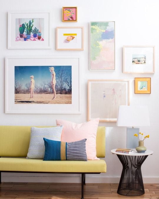 The Emily Henderson Way to Shop, Frame and Hang Gallery Walls