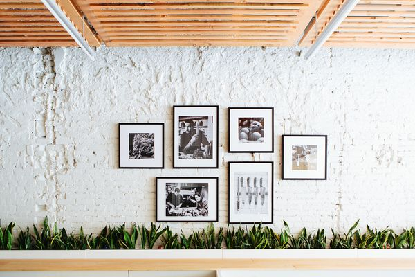 gallery wall in cava