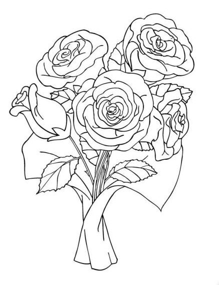 beautiful free valentines coloring pages - photo#16