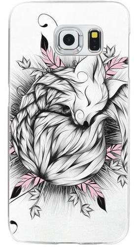 sleeping fox phone case