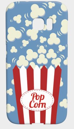 popcorn phone case design
