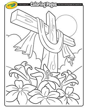He Is Risen Coloring Page From Ministry To Children