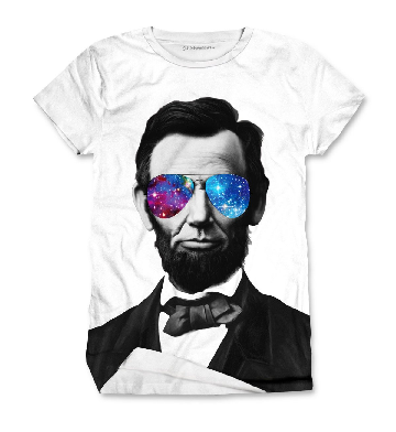 Abraham Lincoln universe glasses