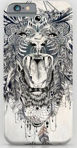 lion design print