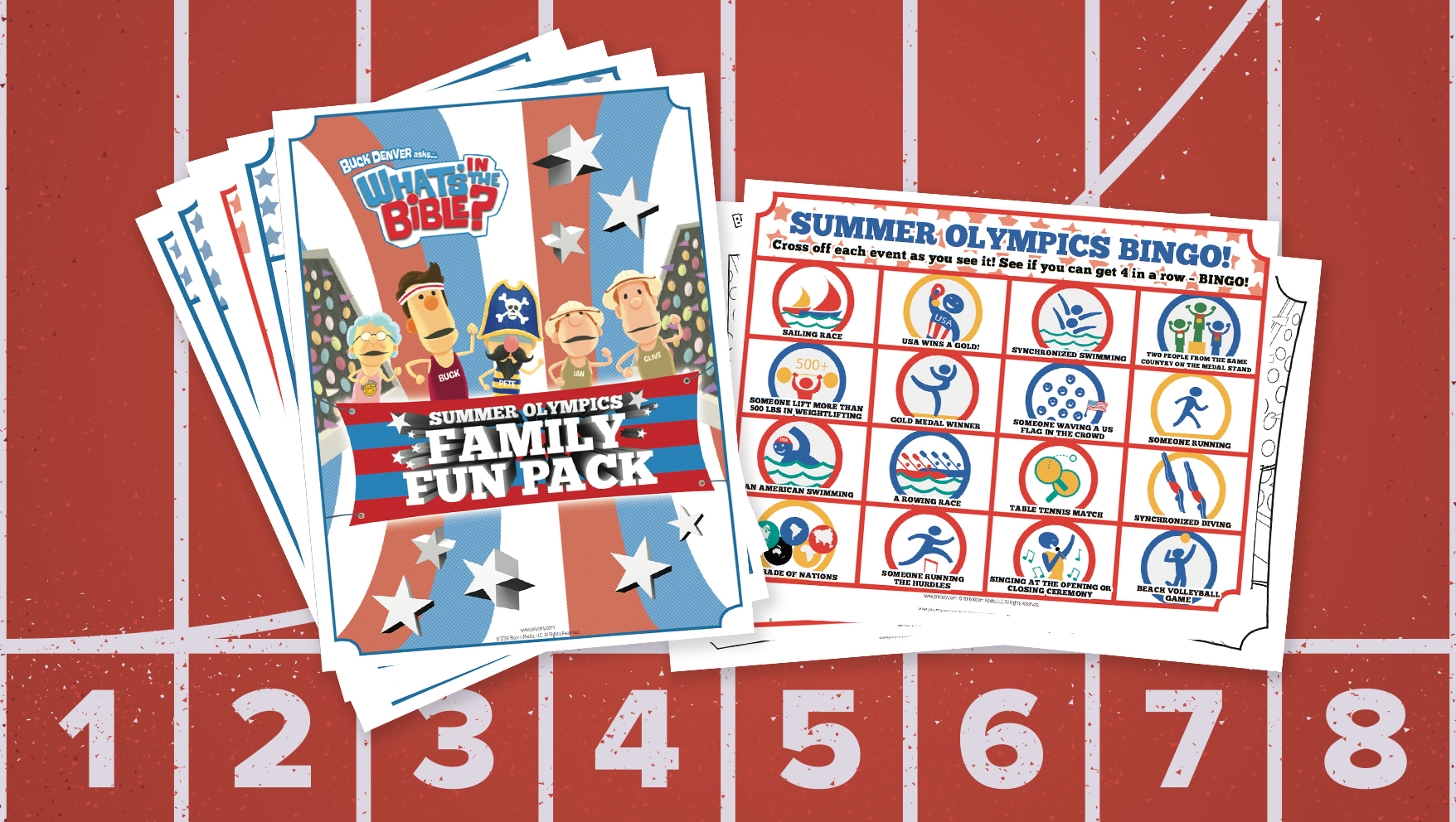 Free Summer Olympics Activity Pack