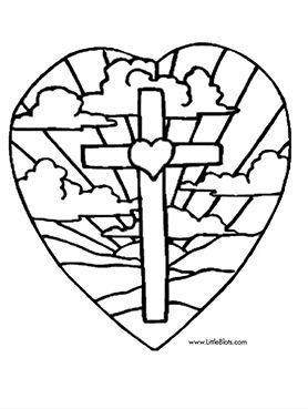 easter coloring pages from bible story printables - Easter Color Pages