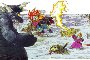 Chrono Trigger drawing