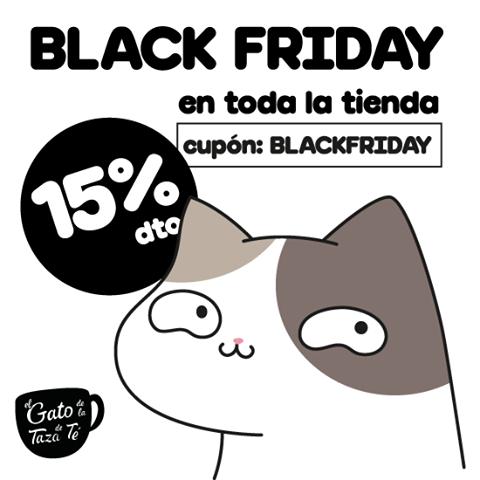 Descuento Black Friday El Gato de la taza de té