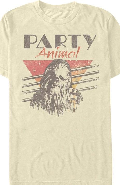Chewie party animal star wars