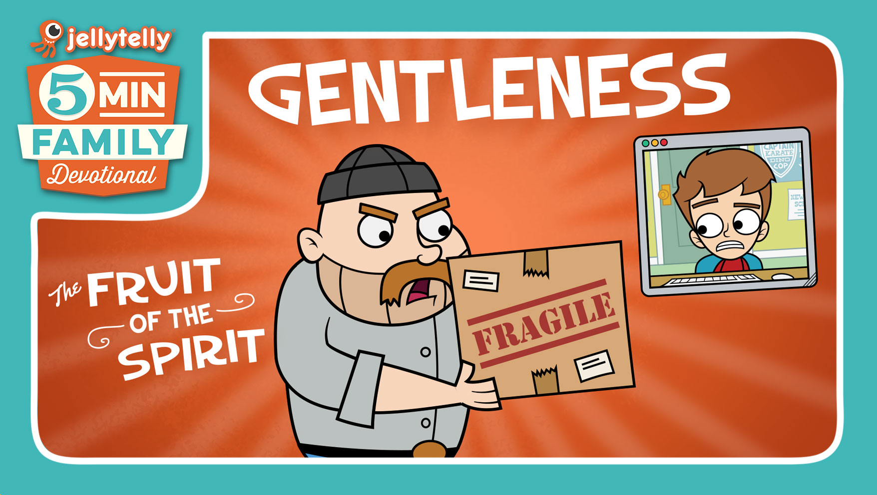 Gentleness - The Fruit of the Spirit 5 Minute Family Devotional