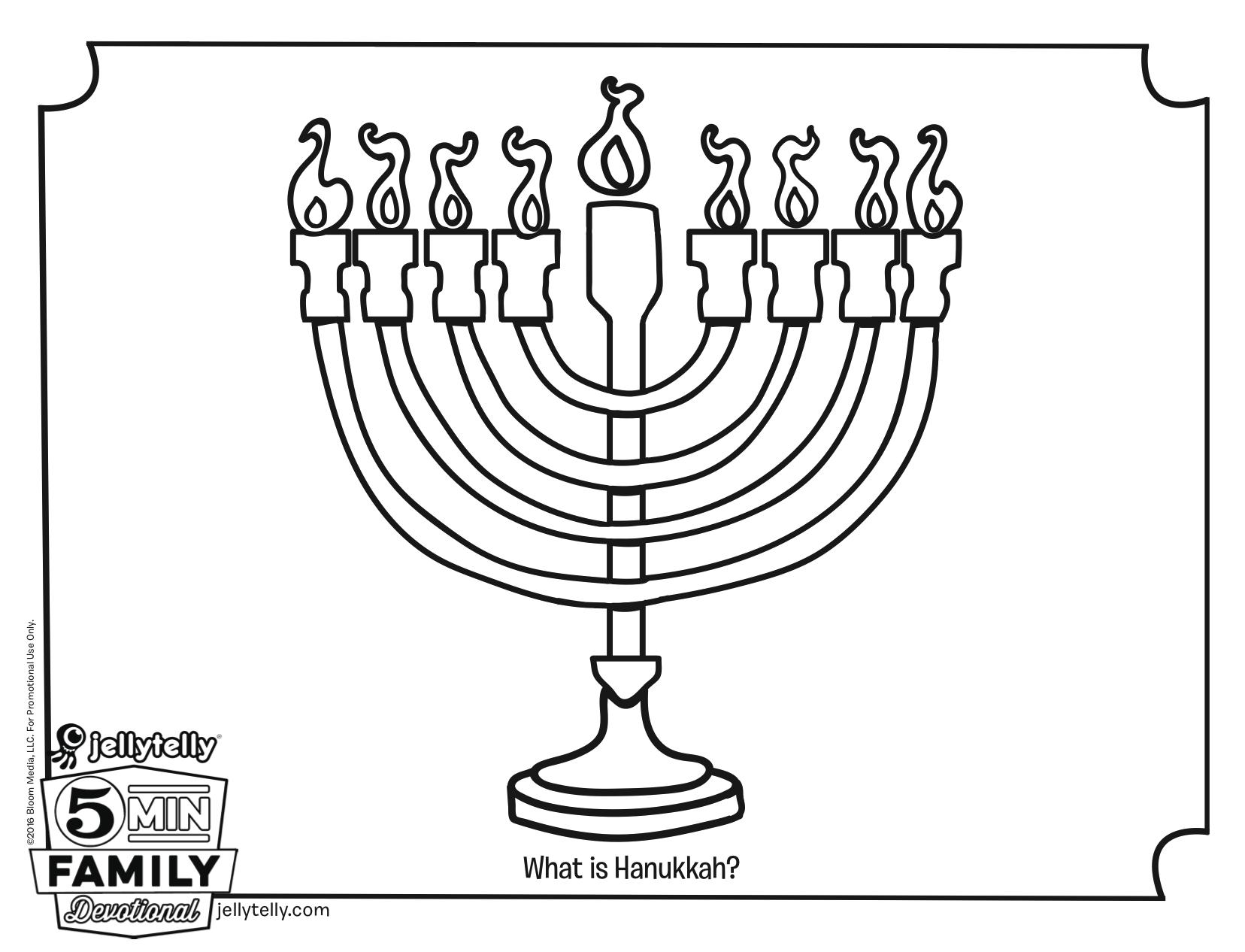 Wunderbar Hanukkah Malvorlagen Zum Ausdrucken Zeitgenössisch ...