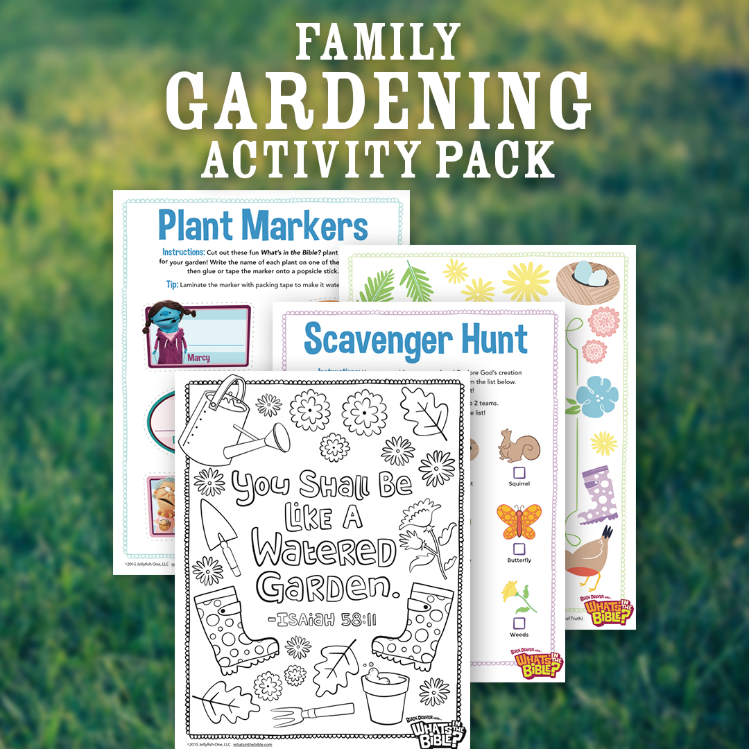 Family Gardening Activity Pack
