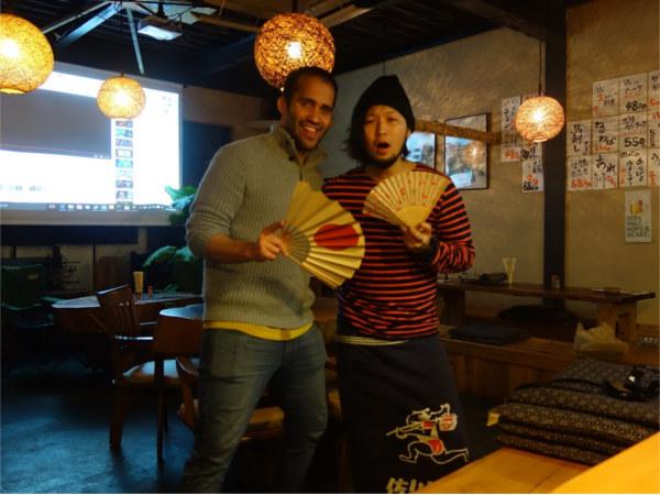 Me and my great friend Tatsuhiro