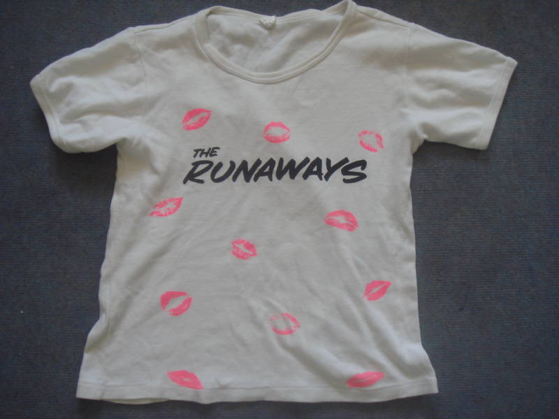 Iconic t shirt design - The Runaways T-shirt