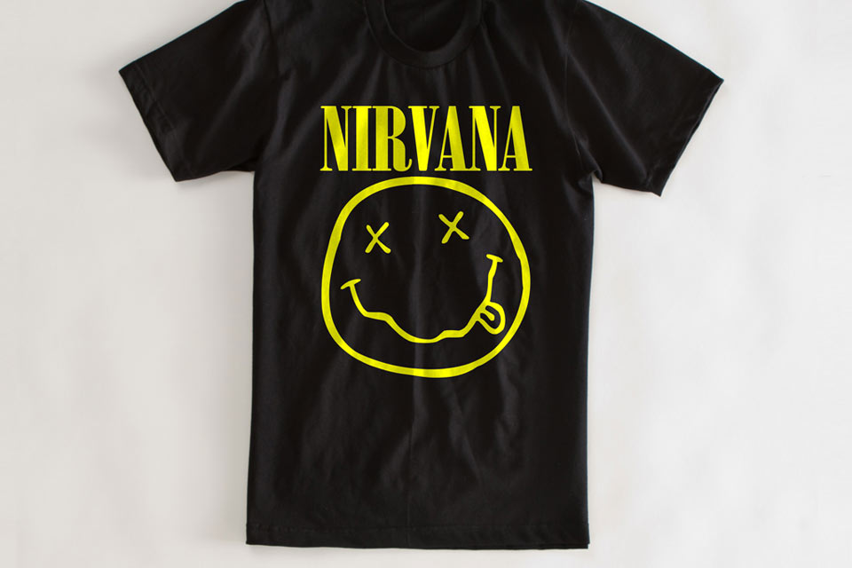 Iconic t shirt design - Nirvana T-shirt