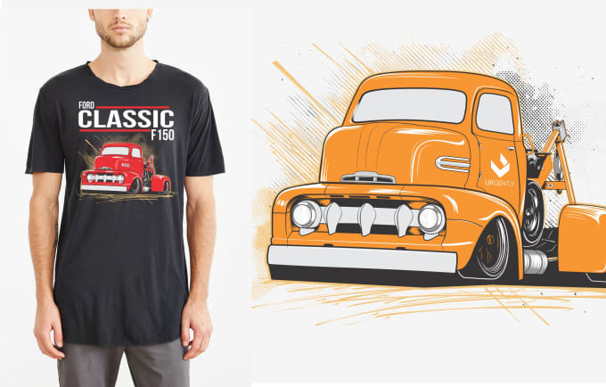 truckers tshirt