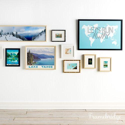 Frame It: Postcards