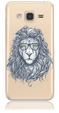 Lion head phone case design