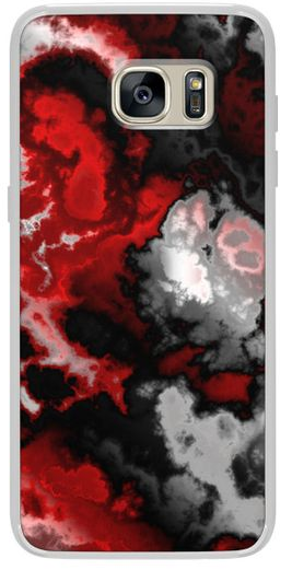 Red phone case design