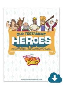 Old Testament Heroes Devotional And Activity Pack