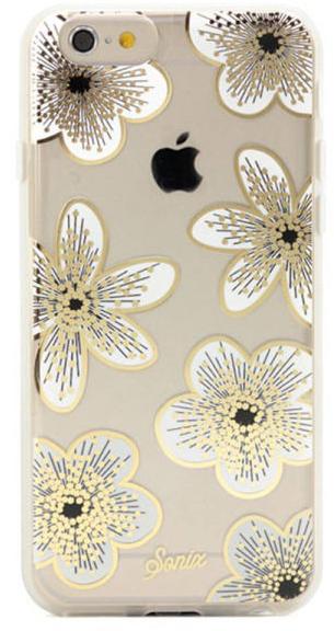 shiny flower phone case design
